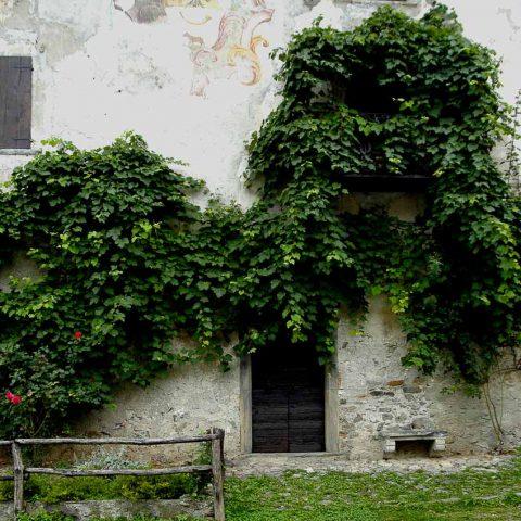Palazzo moderno e stemma della Famiglia Tasso
