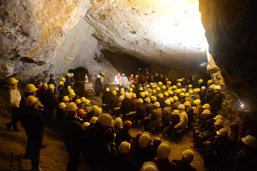 Eventi all'interno delle miniere