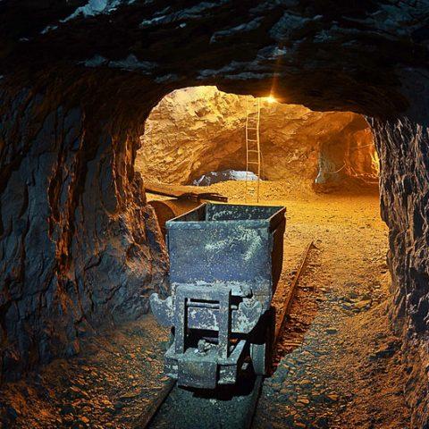 Interno delle miniere
