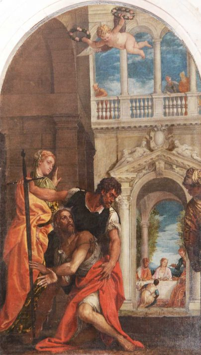 """Pala di Paolo Veronese, """"Decollazione di San Giovanni Battista"""", 1575"""
