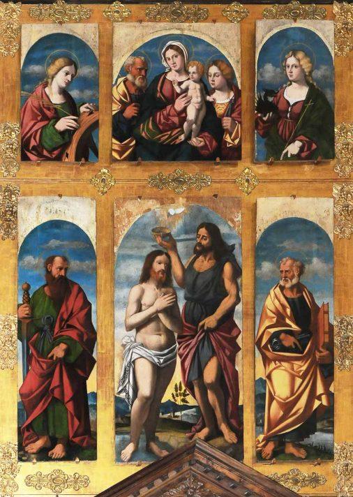 Polittico di Francesco Rizzo da Santacroce (XVI secolo)