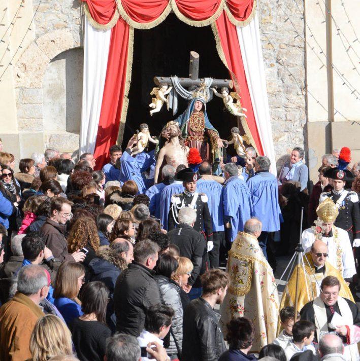 Festa del Madonù a Dossena