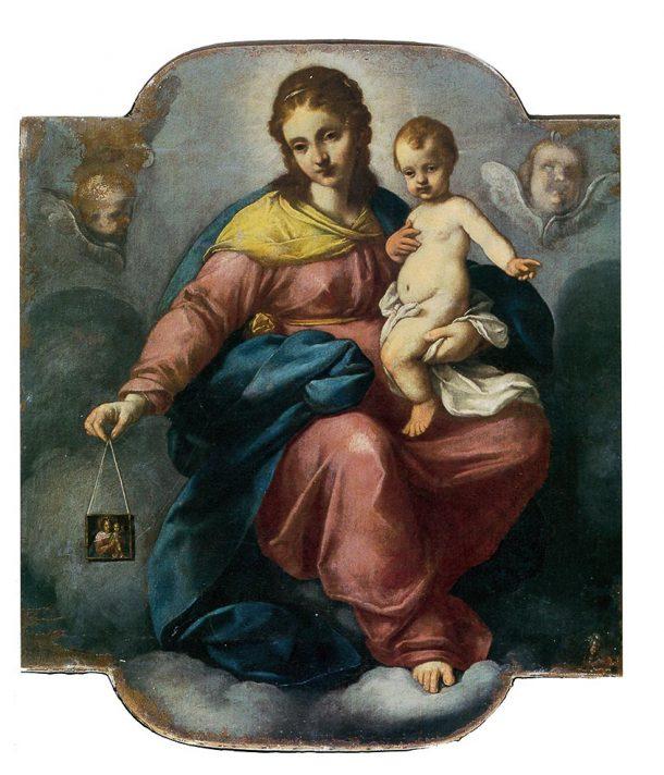 """Carlo Ceresa, """"Madonna del Carmelo"""" nella chiesa di Oneta"""
