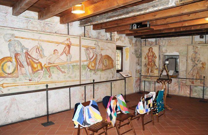 Palazzo Grataroli, Camera Picta