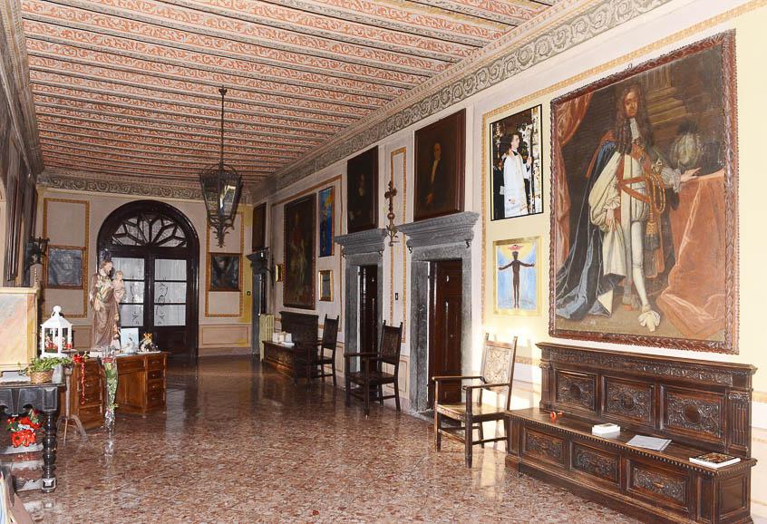Interno di Palazzo Boselli