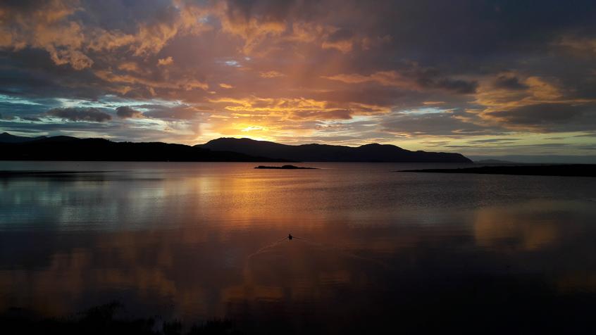 """Jessica Schenatti, """"Tramonto"""" (Isola di Skye, Scozia)"""