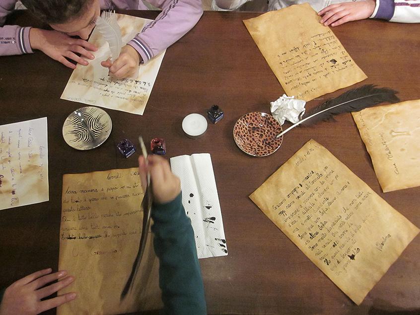 laboratorio scrivere lettere