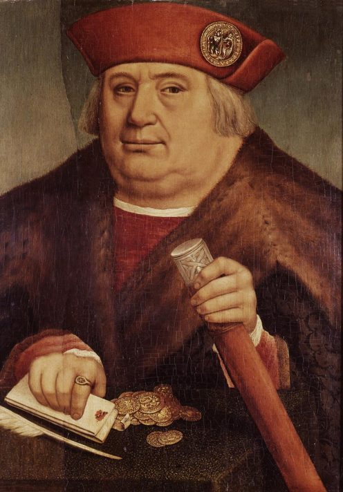 Ritratto di Francesco Tasso di Hans Holbein il Giovane.