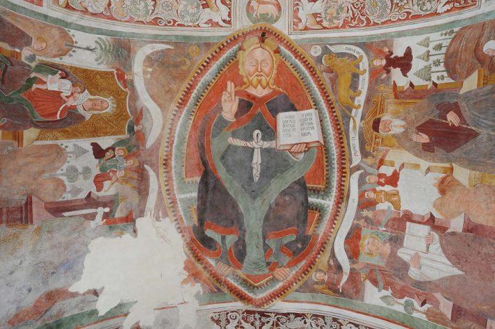 Affreschi nella chiesa di San Ludovico di Tolosa