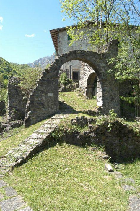 Rovine dell'antico palazzo Tasso