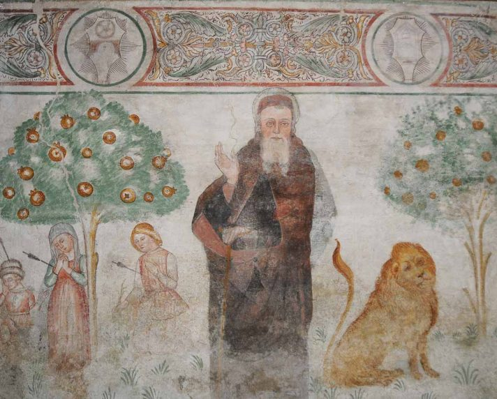 Palazzo Grataroli, Camera Picta, particolare