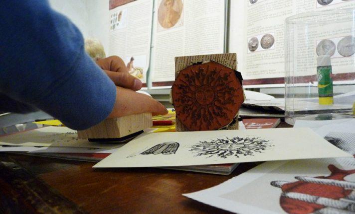 laboratorio mail art museo dei tasso cornello