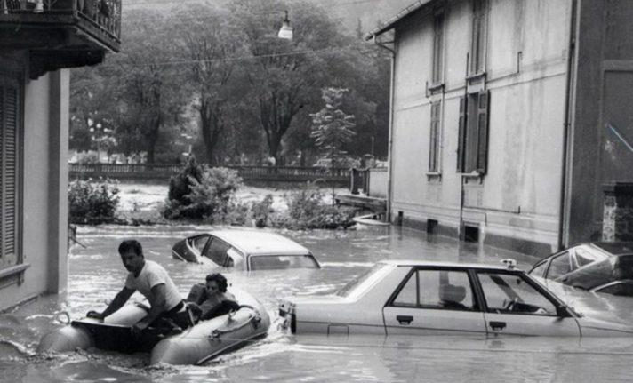 30 anni dall'alluvione valle brembana 1987