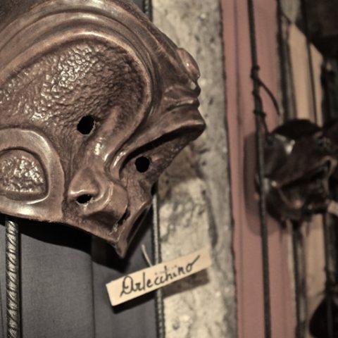 Maschera di Arlecchino - ph. Associazione Oter